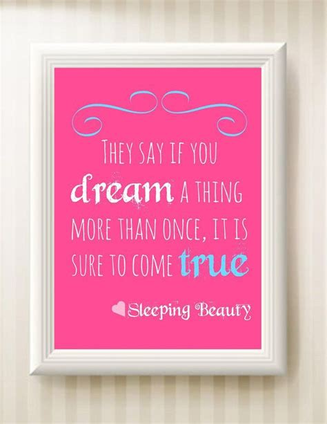 film quotes about sleep nursery sleeping beauty quote 8x10 instant by