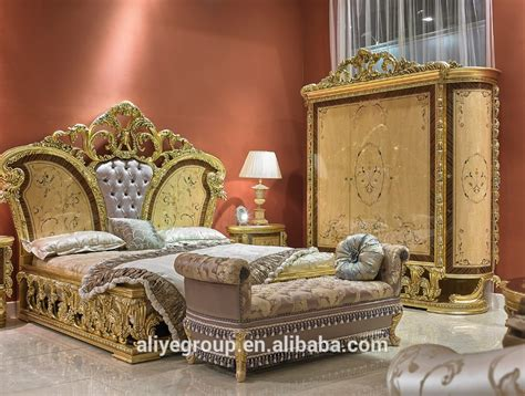 art  baroque italy style  bedroom furniture royal luxury bedroom furniture set