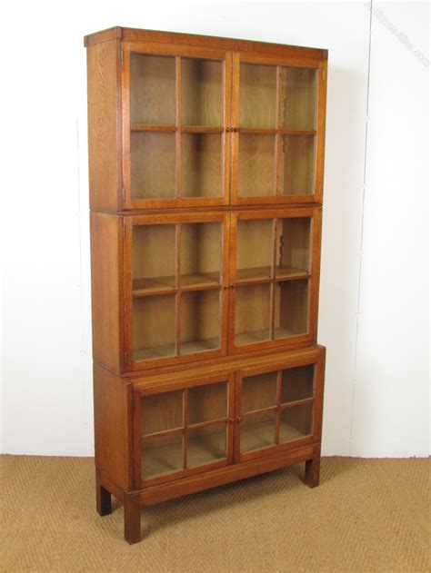 sectional bookcase heal s oak sectional bookcase antiques atlas