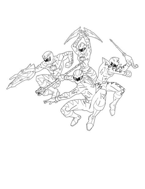 coloring pages power rangers dino thunder four power rangers dino thunder coloring pages baby