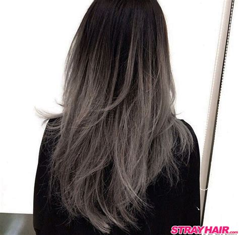 hairstyles and color for gray hair gorgeous gunmetal gray hair strayhair
