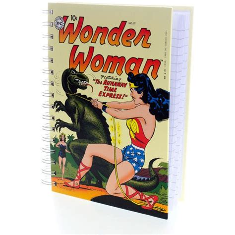 wonder woman home decor dc comics wonder woman a5 notebook 7 63 liked on