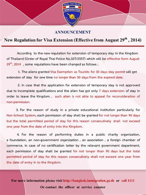 Muster Einladung China 60 Dage I Thailand Uden Visum