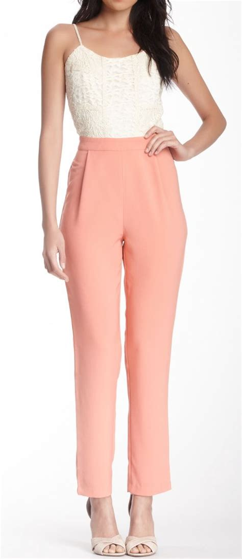 Two Tone Jumpsuit Minimal jumpsuit style jumpsuits separate