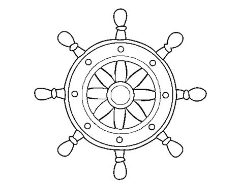 ship wheel template anchor wheel and coloring book coloring pages