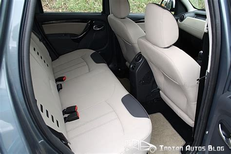 Duster Top Model Interior by Renault Duster Interior Review Indian Market