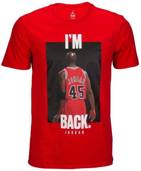 T Shirt I M retro 10 i m 45 back shirt sneakerfits
