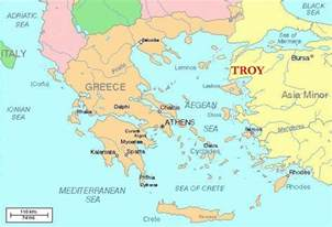 Troy Greece Map by Gallery For Gt Ancient Troy Map
