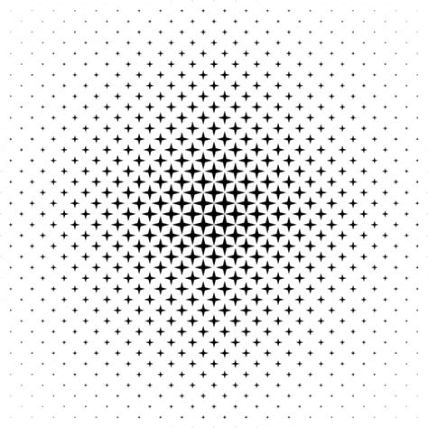 vector pattern free commercial use monochrome star pattern vector background vector free