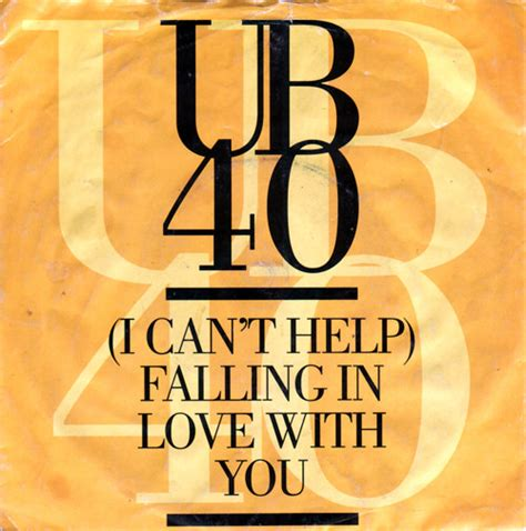 ub40 i can t help falling in love with you vinyl at discogs