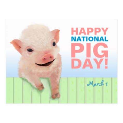 happy pig day happy pig day gifts on zazzle
