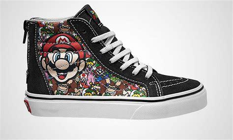 Vans Sk8 Hi Nintendo Reissu Mario Back Zip vans x nintendo pack