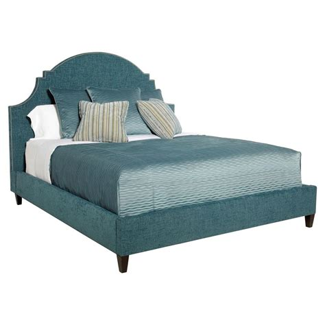 blue upholstered bed chambray global bazaar blue moon upholstered queen bed
