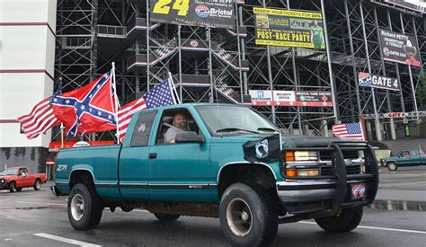 flag truck the hypocrisy of flags you can t it both ways