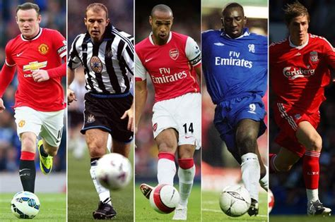 epl best players epl 25th anniversary see top 25 players to have shown