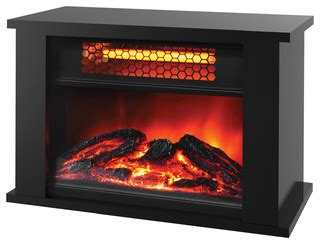 Decorative Space Heater by Lifesmart Zone Series Tabletop Infrared Heater With Decorative Effect Modern Space
