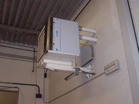 riscaldare capannone crosato impianti nuova sede sanagens