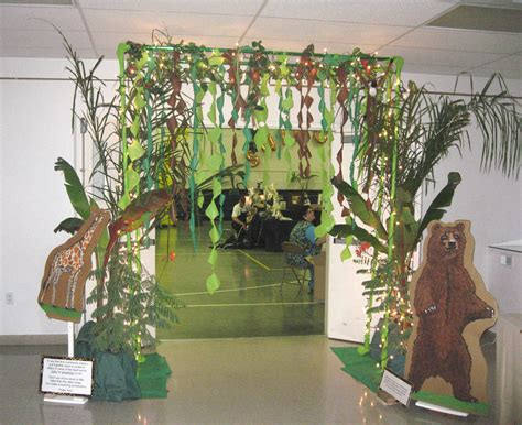 jungle theme decorating ideas balloon decor of central california themes