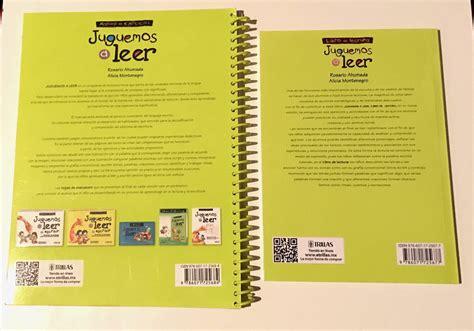 libros revistas y comics libros escolares primaria publicacion juguemos a leer cuaderno ejercicios y libro de lectura