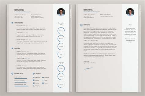 Moderne Website Vorlage 30 Kreative Kostenlose Druckbare Lebenslauf Vorlagen