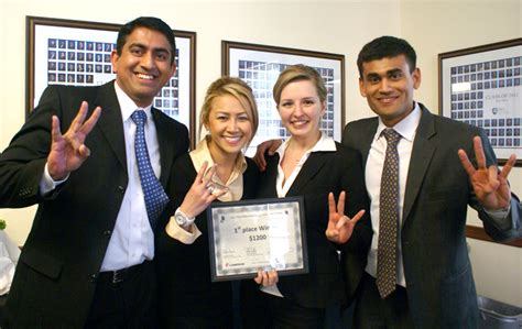 Rice Mba Merit Scholarships bauer student teams top rice mba marketing