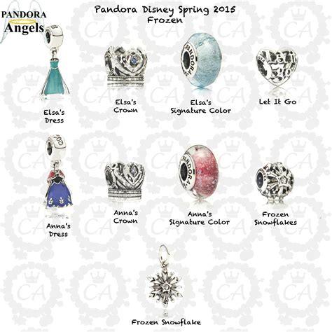 disney and charms disney pandora bead collection