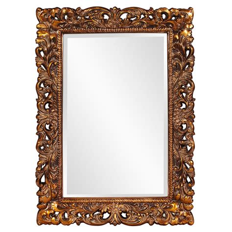 Design Ideas For Howard Elliott Mirrors Barcelona Gold Rectangle Mirror Howard Elliott Collection Wall Mirror Mirrors Home