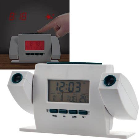 dual projection alarm clock with fm radio walmart