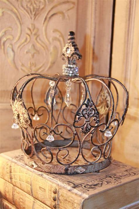 crown home decor metal decorative crown couronne pinterest