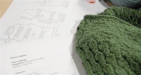 pattern writing knitting handmade by stefanie how to say it pattern writing for