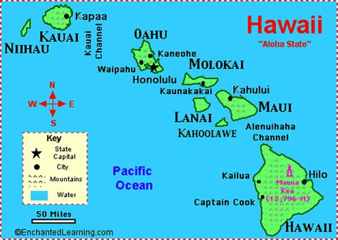 map of hawaii map of hawaii travel through hawaii