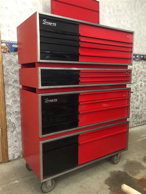 vintage snap on tool chests 1000 images about tool boxes on pinterest craftsman
