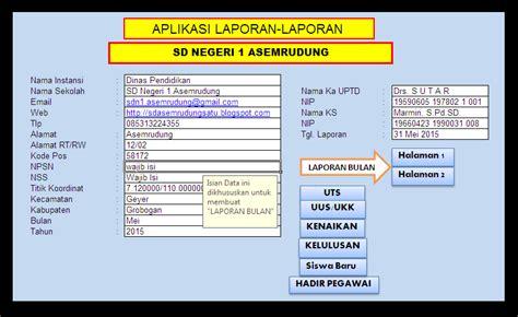 aplikasi untuk membuat jadwal kegiatan aplikasi laporan kegiatan sd negeri 1 asemrudung