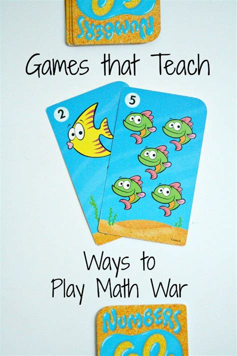 how to play war 17 best images about montessori numbers and mathematics on
