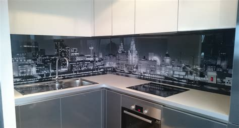 Pictures Of Kitchen Backsplash by Printed Glass Splashbacks For Kitchens Colour 2 Glass