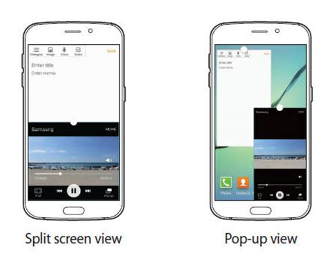 Samsung Multi Window samsung galaxy s6 multi window galaxy s6 guide