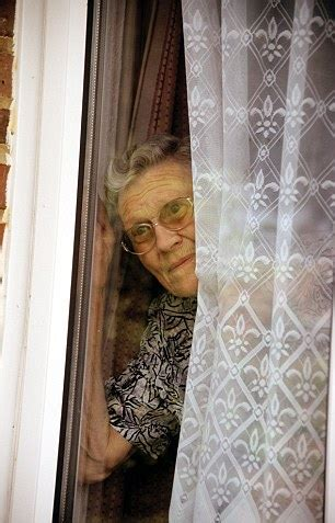 out through the curtain one in three of us spy on our neighbours daily mail online