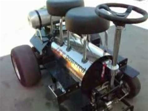 motorized bar stools redneck jet powered motorized bar stool youtube
