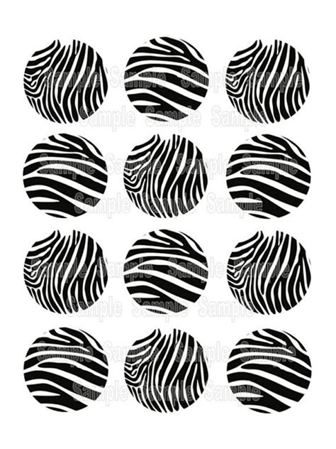 free printable zebra print cupcake toppers 17 best images about edible printing on pinterest cake