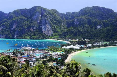 koh phi phi travel tips thailand    map