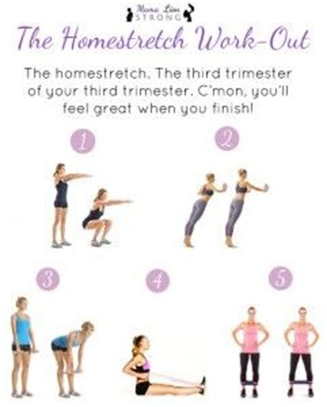 Third Trimester Detox by The Homestretch Third Trimester Workout Get R Done See