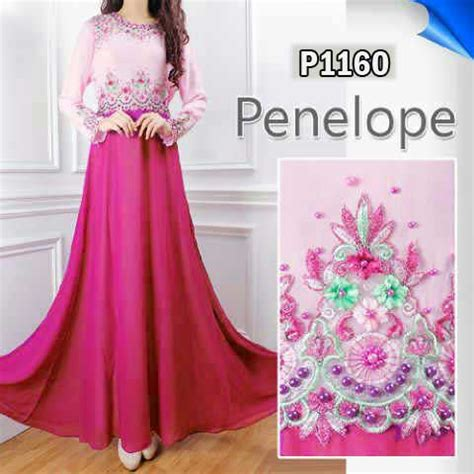 Dress Wanita Dress Muslim Wanita Naira Dress Pink Balotelly dress pesta modern auto design tech