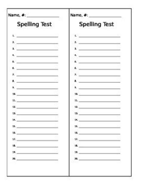 blank spelling list template free worksheets 187 spelling worksheet templates free math