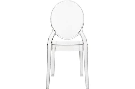 Chaise Elizabeth Transparente by Chaise Baby Elizabeth Transparent Chaise Et Fauteuil