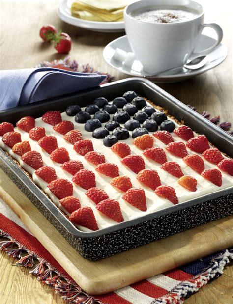 kuchen rührkuchen flag cake usa flaggenkuchen usa kulinarisch
