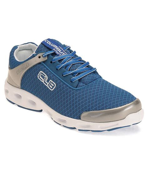 colombus sports shoes columbus blue running sports shoes price in india buy