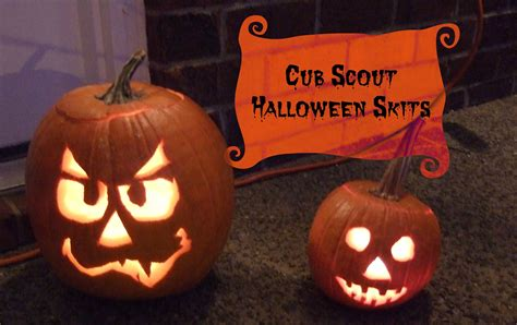 Halloween Skit Themes | cub scout halloween skits cub scout ideas