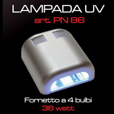 lada uv 36 watt 4 bulbi primadonna nails e forniture per estetisti e