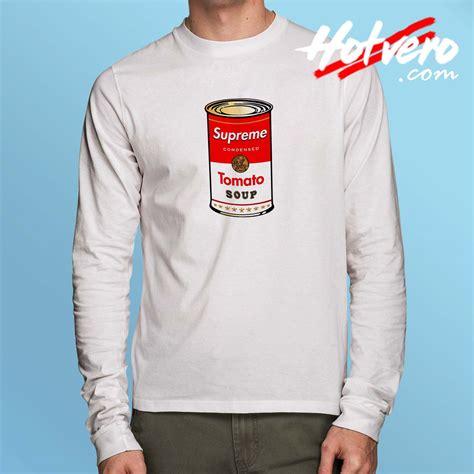 supreme cheap cheap supreme tomato soup sleeve shirt hotvero