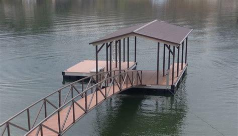 aluminum floating boat dock kits covered boat dock kits bing images